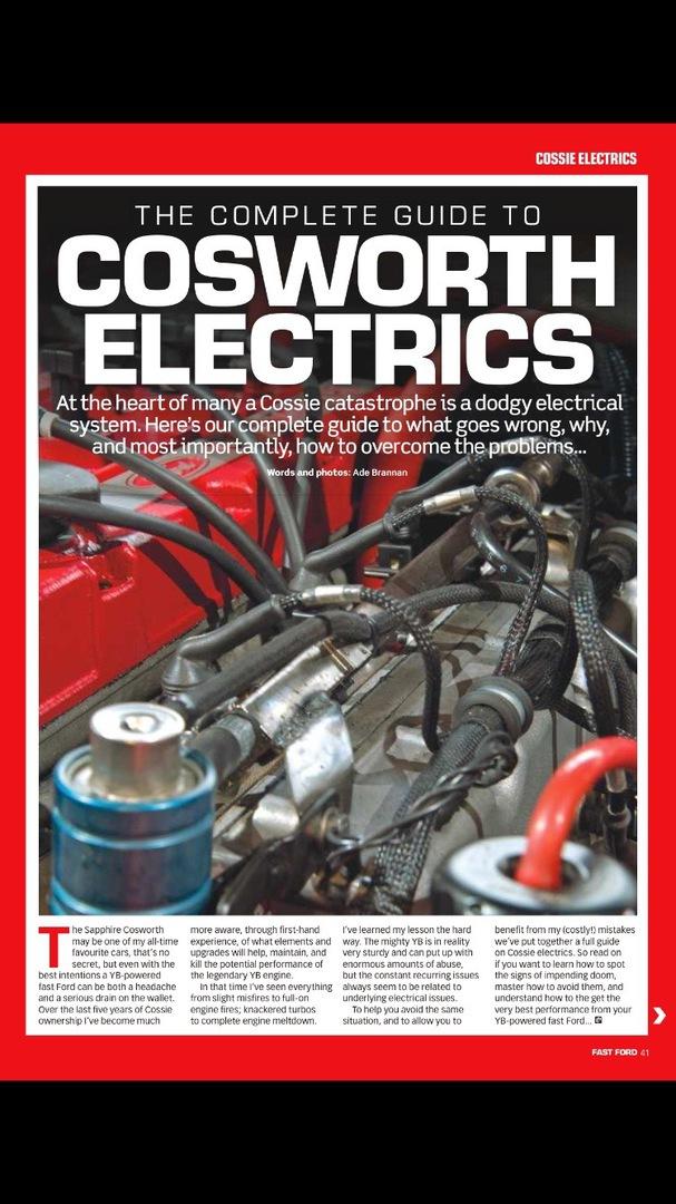 Auto Dynamix - YB Cosworth Engine Looms